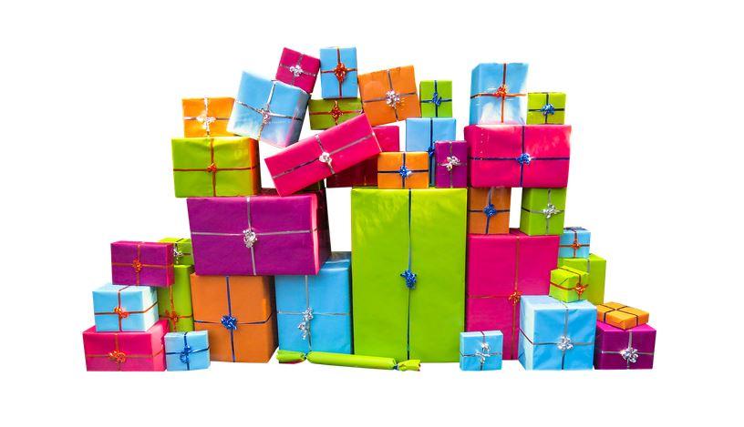 Zdjęcie z prezentami